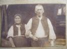 Älteres Kriegsdorfer-Ehepaar in Tracht