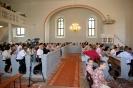 Wiedereröffnung der ev. Kirche